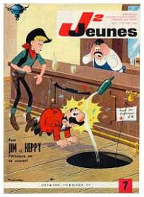 Cover for J2 Jeunes, by Pierre Chéry