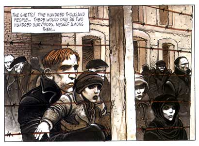 Hunting Party, by Enki Bilal and Pierre Christin