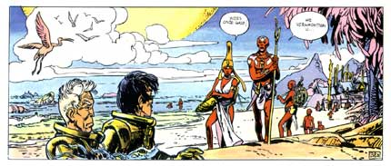 Valerian, by Mézières and Pierre Christin