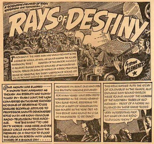 Rays of Destiny by Stan Clements