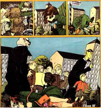 comic art by Aart Clerckx (Gummi, 1977)