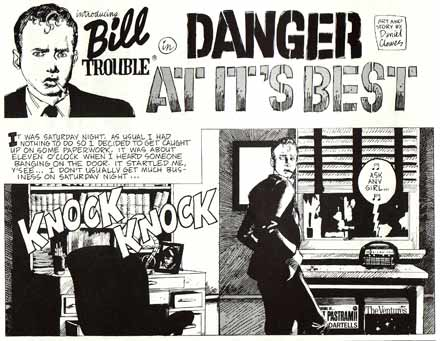 Bill Trouble, by Daniel Clowes