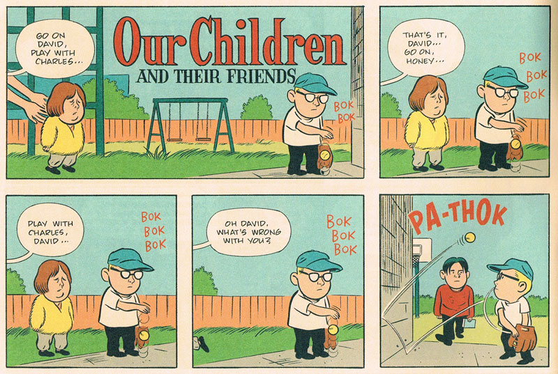 Our children and their friends by Daniel Clowes