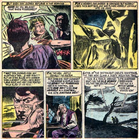 Possessed by Gene Colan