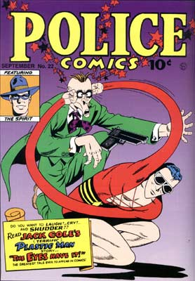 Police Comics cover, by Jack Cole