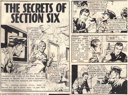 The Secrets of Section Six by Anthony Coleman