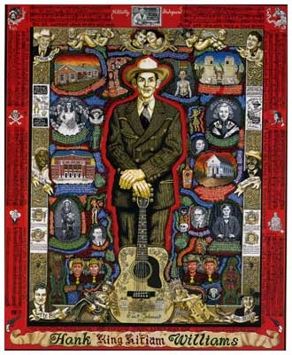 Hank Williams by Joe Coleman