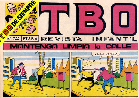 TBO cover, by Coll (José Coll y Coll)