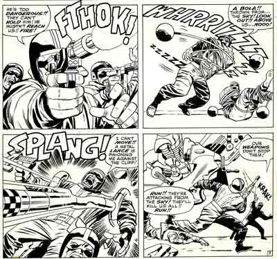 Mighty Thor by Kirby and Colletta