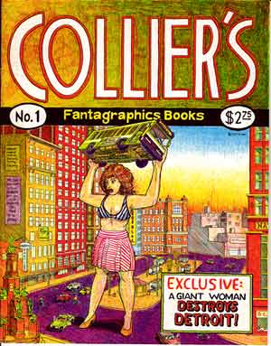 Collier's Fantagraphics Books, by David Collier