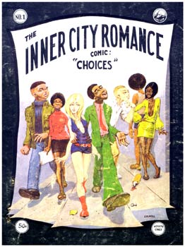 Inner City Romance cover, by Guy Colwell