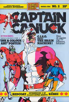 Captain Canuck, by Richard Comely
