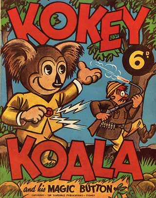 Kokey Koala, by Noel Cook