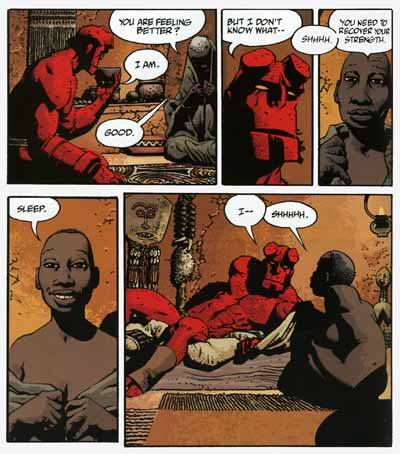 Hellboy - Makoma, by Richard Corben (2007)