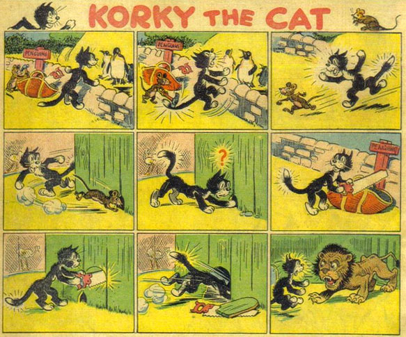Korky the Cat by Jimmy Crighton