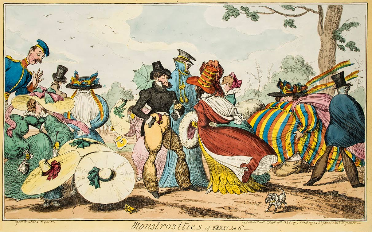 comic art by George Cruikshank