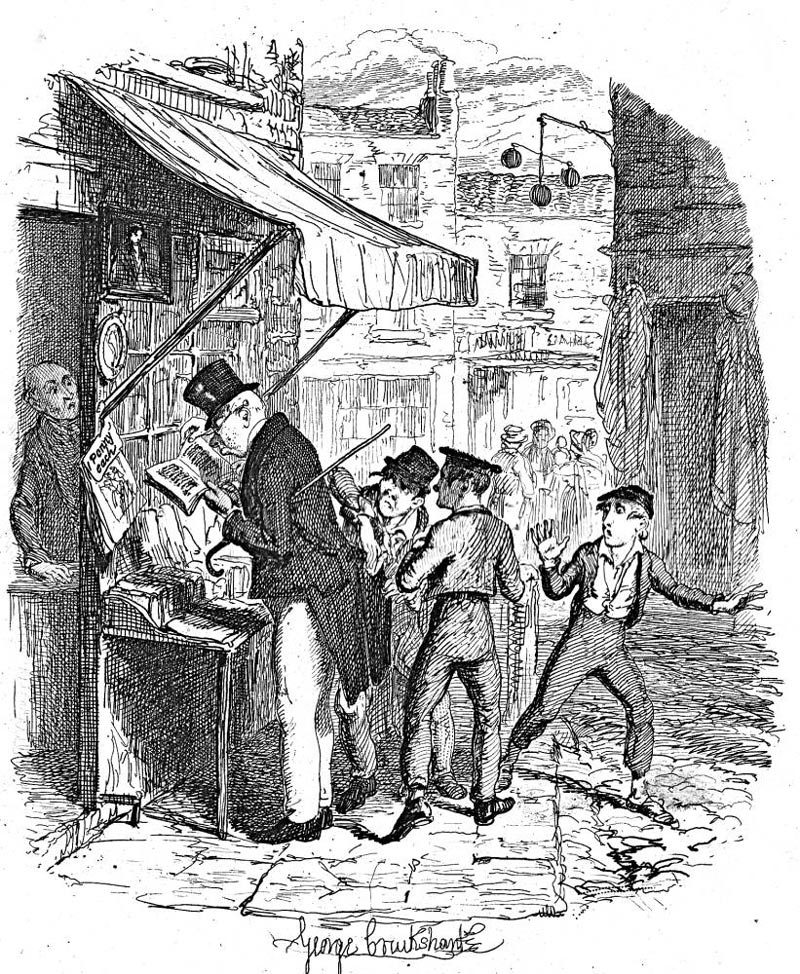 The Artful Dodger Drawing