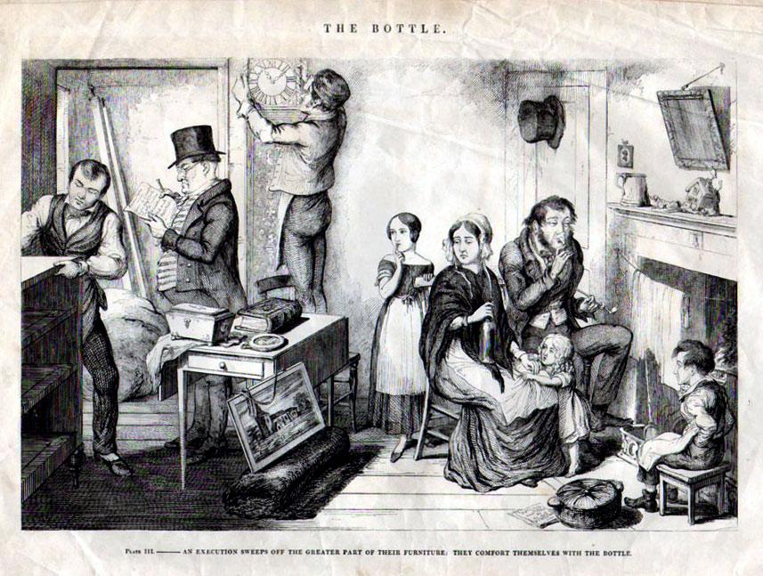 The Bottle, by George Cruikshank