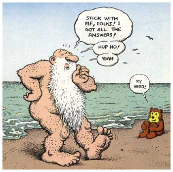 Mr Natural, by Robert Crumb