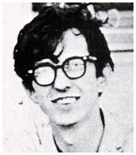 photograph of the young Robert Crumb