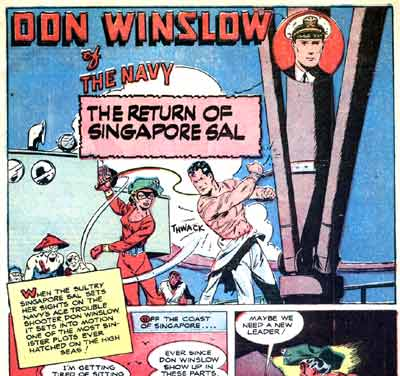 Don Winslow and Singapore Sal, 1947