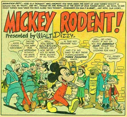 Mickey Rodent! by Bill Elder