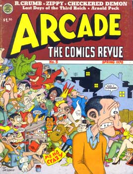 Arcade, cover by Jay Lynch, 1976
