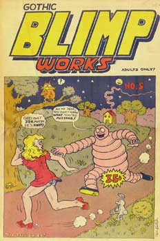 Gothic Blimp Works, cover by Kim Deitch