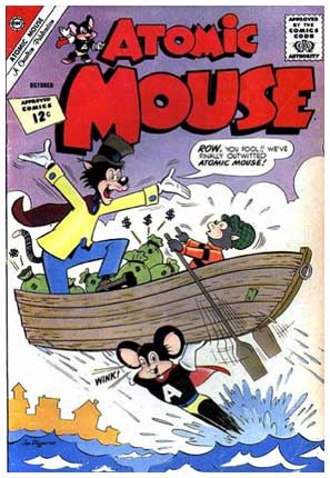 Atomic Mouse, by Jon d'Agostino