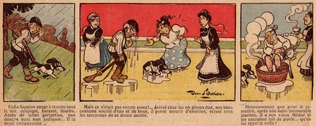 comic art by Jean d'Aurian (1905)