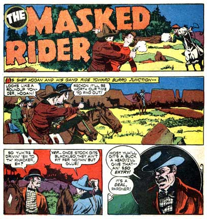 The Masked Rider, by John Daly