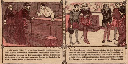 comic from L'Echo du Noel, by Darrigan (1911)