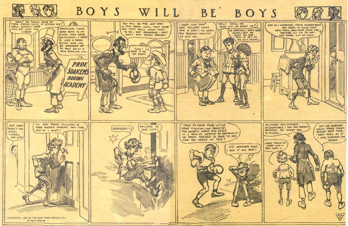 Boys Will Be Boys, by Harry Grant Dart, 1909