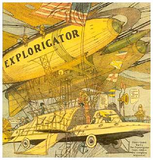 The Explorigator, by Harry Grant Dart, 1908
