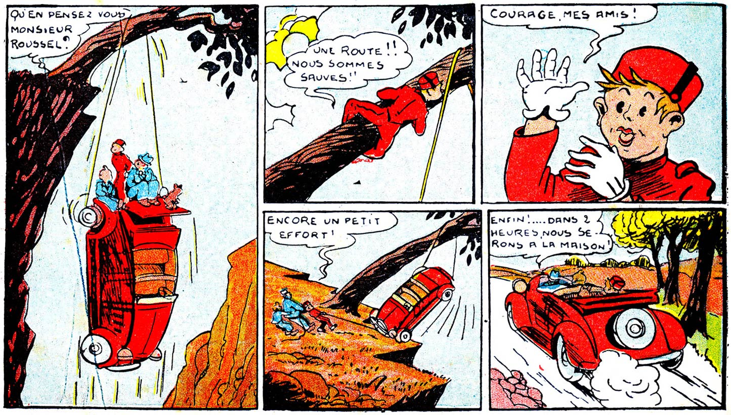 Final Spirou page by Rob-Vel (Davine) from October 1940