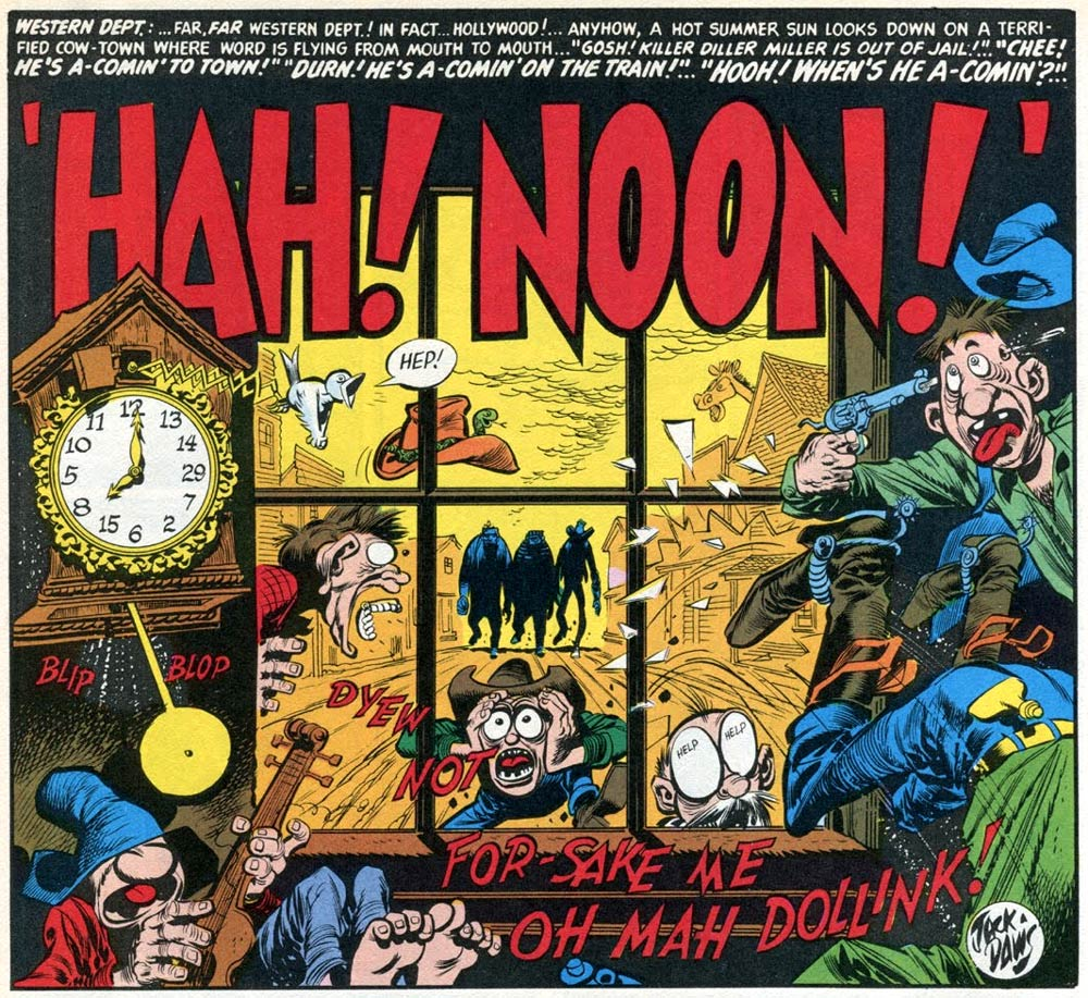 Hah! Noon by Jack Davis
