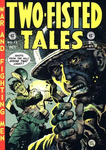 Two-Fisted Tales cover by Jack Davis