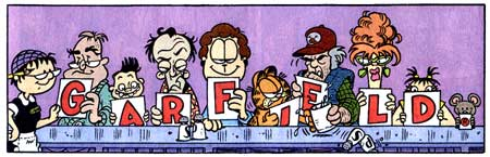 Garfield, by Jim Davis