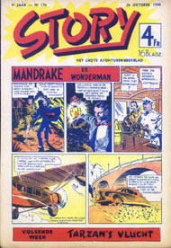 Mandrake in Story, by Phil Davis