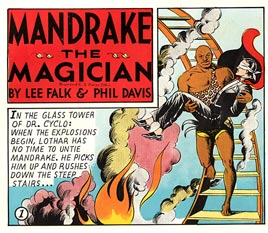 Mandrake the Magician, by Phil Davis (1945)