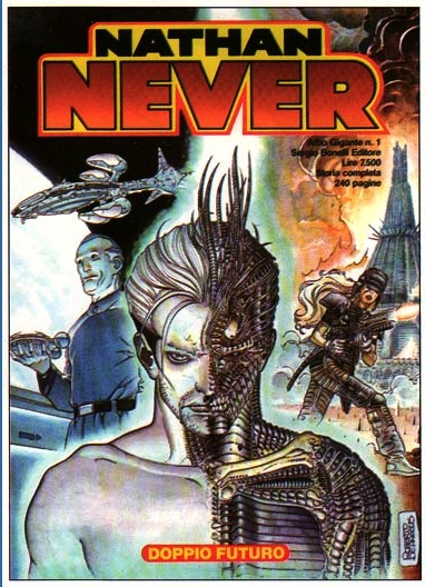 Nathan Never, art by Roberto de Angelis (1995)