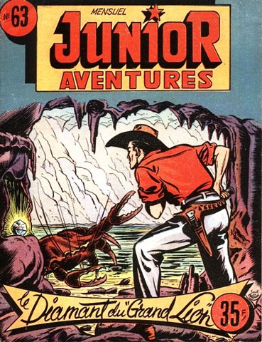 cover for Junior Aventures, by Jack de Brown
