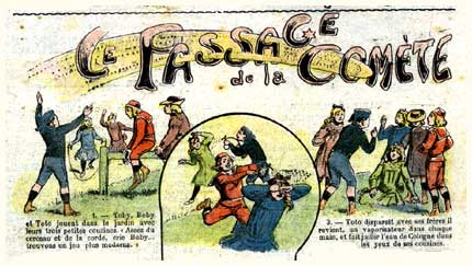 Le Passage de la Comète, by De Jaegher 1910