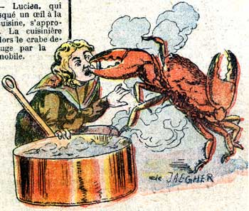 Le Crabe Enragé, by De Jaegher 1910