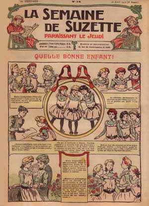 from La Semaine de Suzette, by De la Neziere