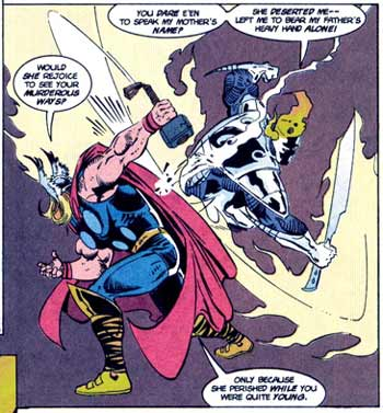 The Mighty Thor, by Jerry DeCaire