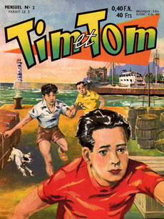 Tim et Tom, by Jean-Paul Decoudun (1959)