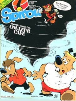 cover for Spirou by Dédé