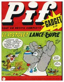 cover for Pif Gadget, by Mic Delinx