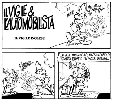Comic by Luca Dell'Uomo